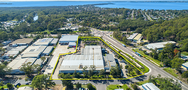 Rare large scale Central Coast warehouse and office sells for $9m