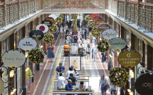 Retail challenges adjust shopping centre outlook